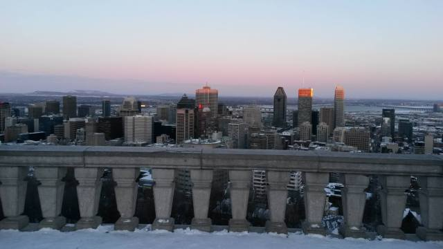 Montreal skyline here