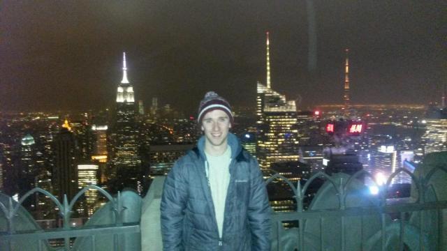 Top of Rockefeller centre in NY