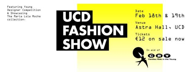 UCD Fashion Show Cover Photo